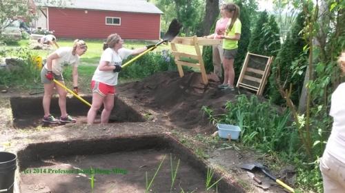 Digging & Sifting